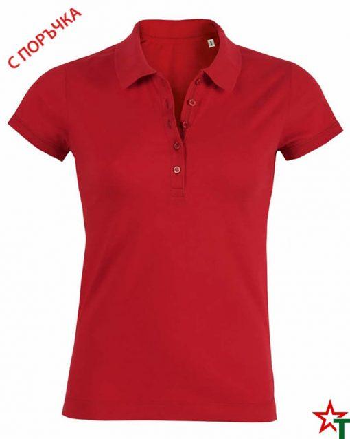 Red Дамска риза Stella Plays
