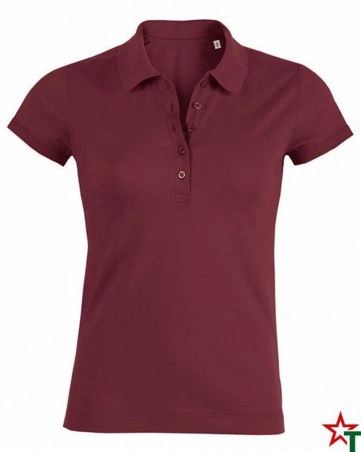 Burgundy Дамска риза Stella Plays