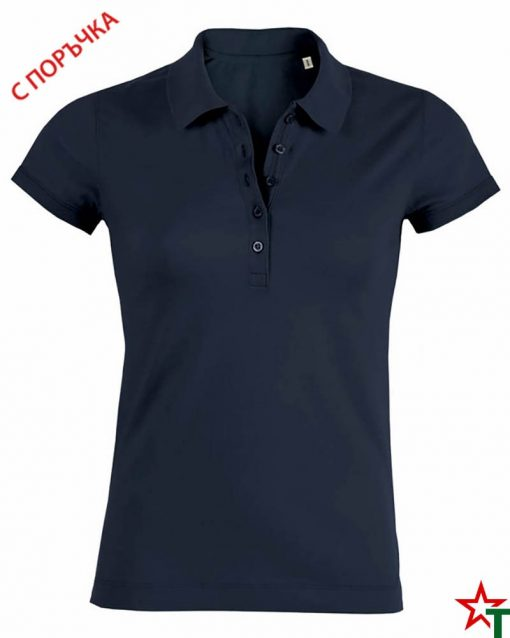 Deep Navy Дамска риза Stella Plays