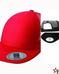 Пет панелма шапка Flat Peak Cap