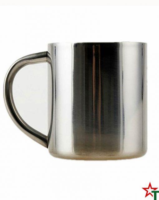 Стоманена чаша с двойни стени
