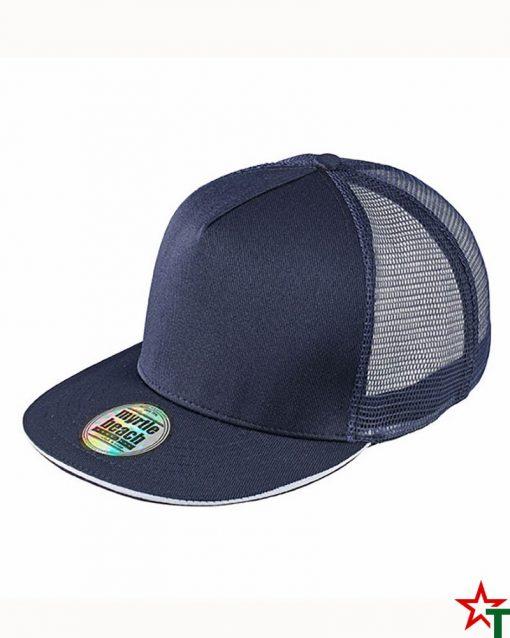 Navy - White Пет панелна шапка Pro Cap Mesh