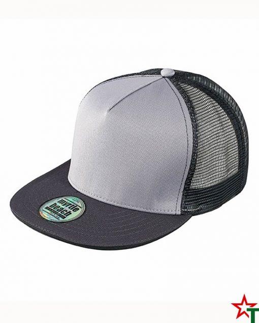 Grey - Black Пет панелна шапка Pro Cap Mesh