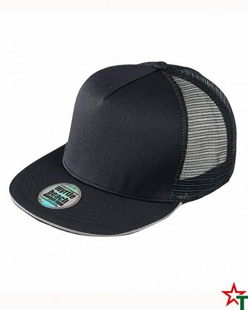 Black - Gray Пет панелна шапка Pro Cap Mesh