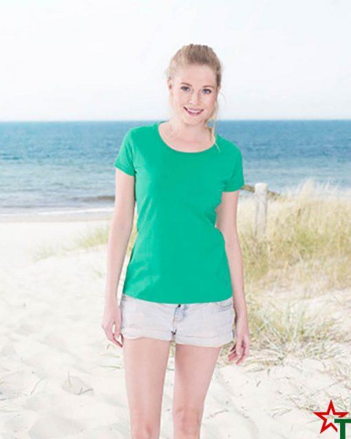 Дамска тениска Ringspun Pre T Lady-Fit