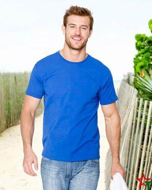BG586 Мъжка тениска Ringspun Pre T