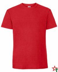 BG586 Red Мъжка тениска Ringspun Pre T
