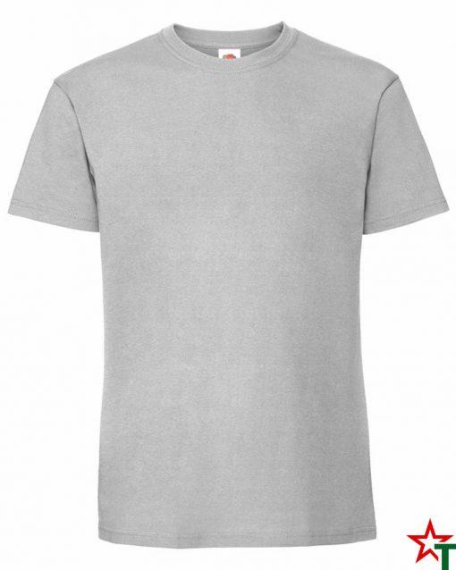 BG586 Zinc Мъжка тениска Ringspun Pre T