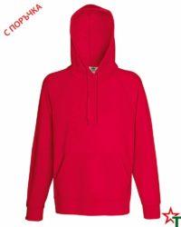 Red Мъжки суитчър Lightweight Hooded S