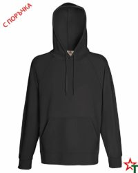 Light Graphite Мъжки суитчър Lightweight Hooded S