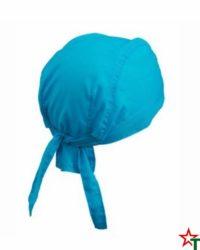 164 Azure Blue Кърпа за глава Bandana
