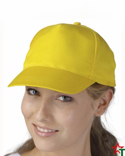 BG88-2 Рекламна шапка 5 Panel Promo