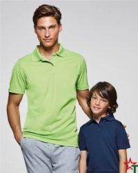 BG380-2 Мъжка спортна риза Polo Monsa Polyester