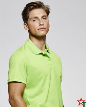 BG380-3 Мъжка спортна риза Polo Monsa Polyester