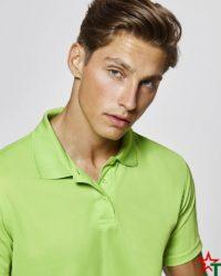 BG380-4 Мъжка спортна риза Polo Monsa Polyester