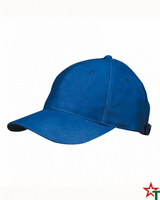BG496 Royal Blue Шапка 6 Panel Laminate