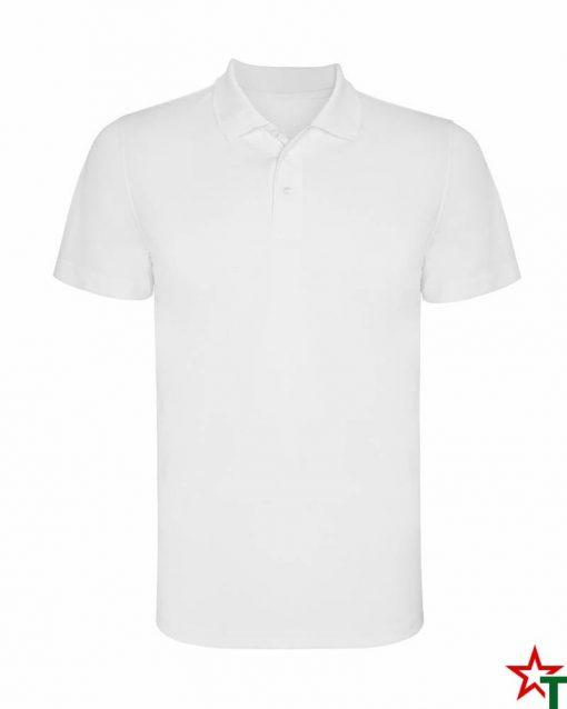 BG580 White Детска спортна риза Monsa Polyester