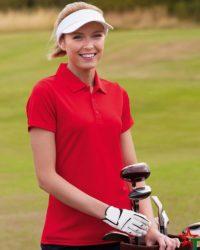 BG847-5-Дамска риза Perform Polo Polyester