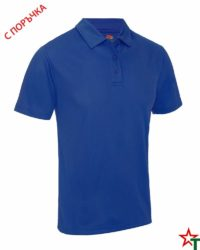 BG871 Royal Blue Мъжка риза Performans Polo Polyester
