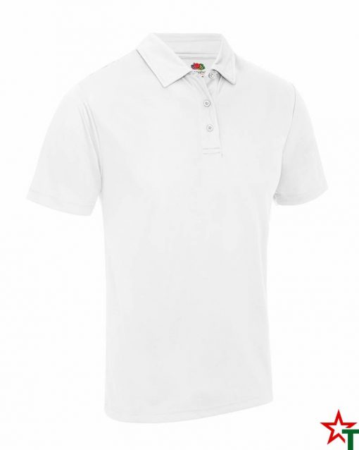 BG871 White Мъжка риза Performans Polo Polyester