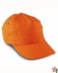 BG88 Orange Рекламна шапка 5 Panel Promo