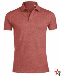 BG1321 Red Melange Мъжка риза Stanley Perform Echoss