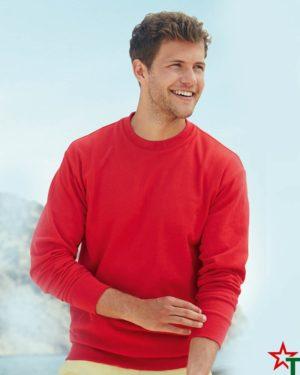 BG110-1 Мъжка ватена блуза Light Sweat Set-In