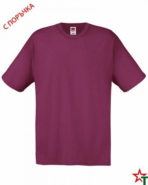 BG393 Burgundy Детска тениска Softspoon T Kid