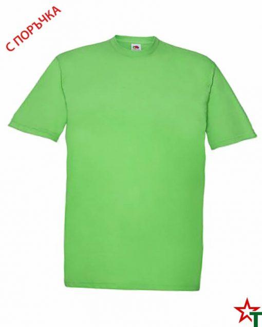 BG393 Lime Детска тениска Softspoon T Kid