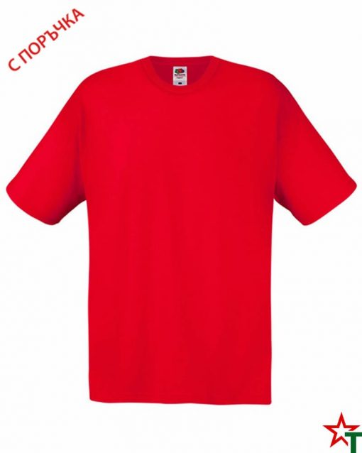 BG393 Red Детска тениска Softspoon T Kid