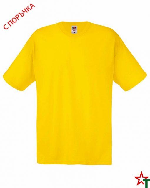 BG393 Yellow Детска тениска Softspoon T Kid