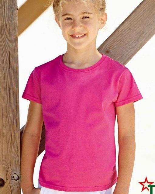 BG493-1 Детска тениска Valueweight Girl