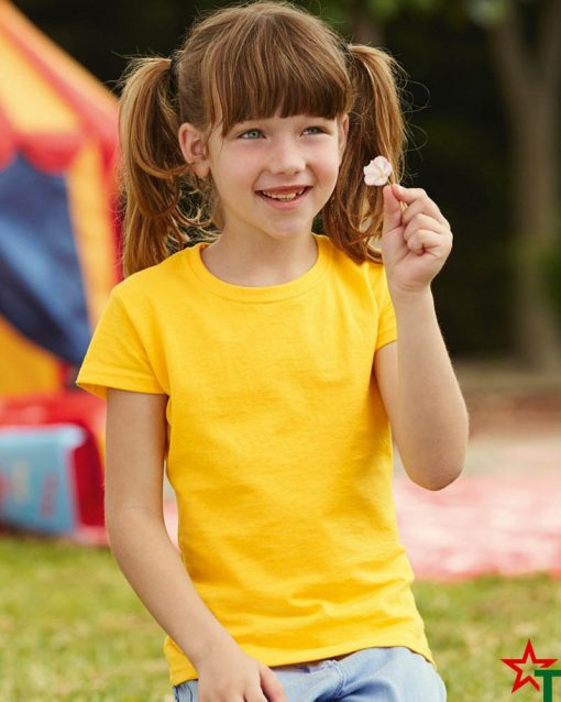 BG493-2 Детска тениска Valueweight Girl
