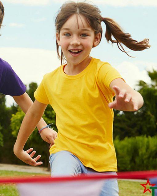 BG493-4 Детска тениска Valueweight Girl