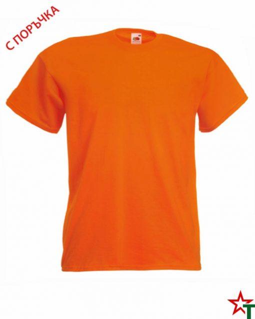 BG493 Orange Детска тениска Valueweight Girl