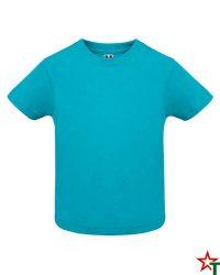 1436 Azure Blue Бебешка тениска Babys