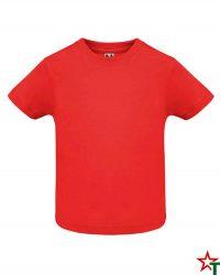 1436 Red Бебешка тениска Babys