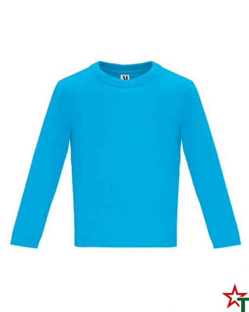 1626 Azure Blue Бебешка тениска Baby Longer