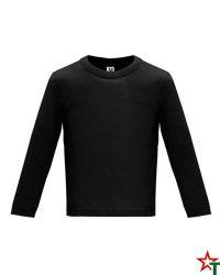 1626 Black Бебешка тениска Baby Longer