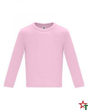 1626 Light Pink Бебешка тениска Baby Longer