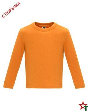1626 Orange Бебешка тениска Baby Longer