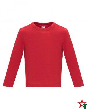 1626 Red Бебешка тениска Baby Longer