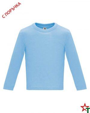 1626 Sky Blue Бебешка тениска Baby Longer