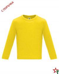 1626 Yellow Бебешка тениска Baby Longer