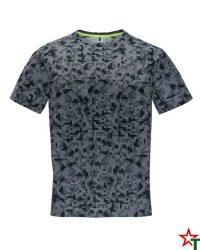 1801 Print Negro Мъжка тениска Assan