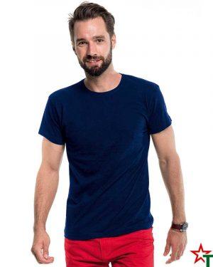 100 Deep Navy 22 Mъжка Промо тениска ERM