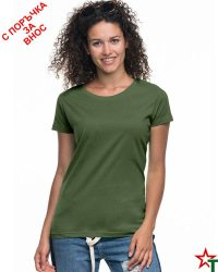 171 Olive 55 Дамска тениска Lady Promo Heavy