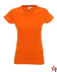 171 Orange 36 Дамска тениска Lady Promo Heavy