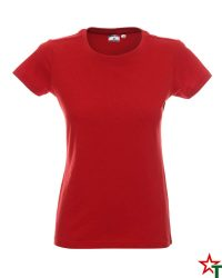 171 Red 30 Дамска тениска Lady Promo Heavy