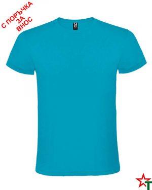 1165 Azure Blue Тениска Anatomic 150